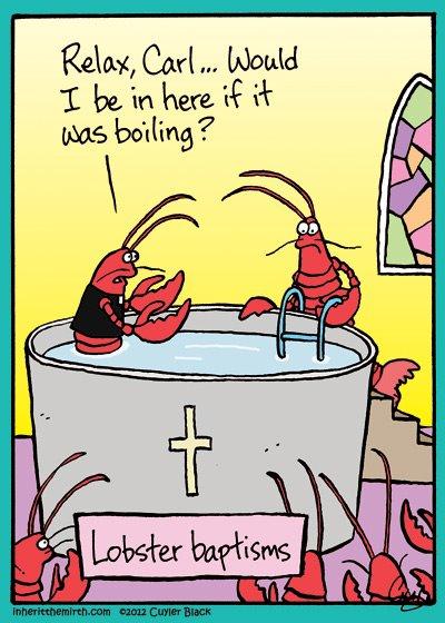 Lobster Baptism