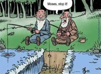 Moses Stop It Comic