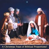 Biblical Times Dinner Theater - The Christmas Story Flyer