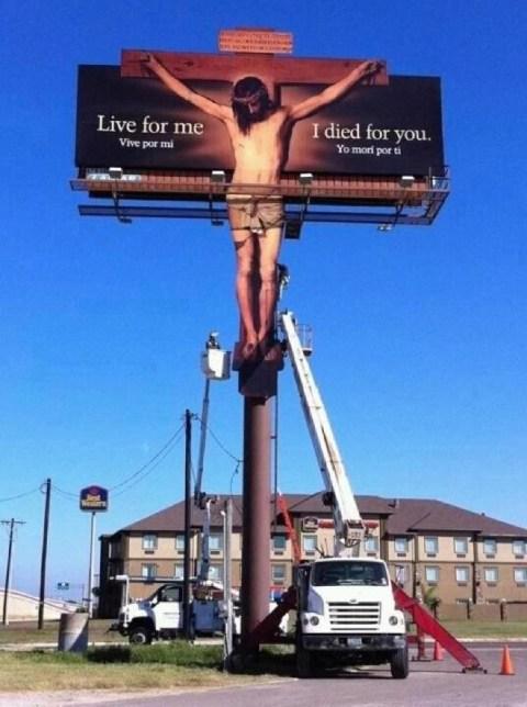 Jesus Billboard