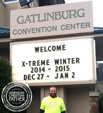 Steve at Xtreme Winter 2014