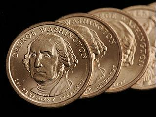 Front of Dollar Coin - In God We Trust Left Off Dollar Coin