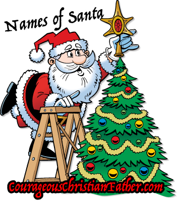 over 15 names of santa claus from across the world