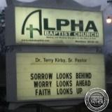 Looks Church Sign