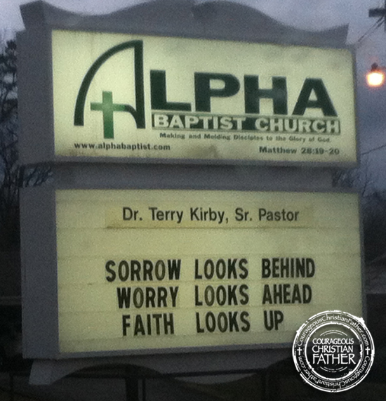 Looks Church Sign