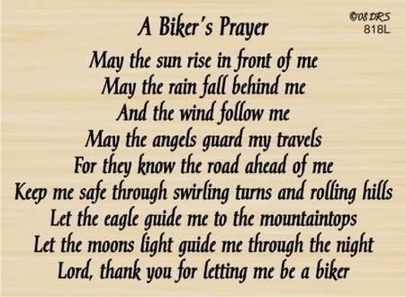 A Biker's Prayer