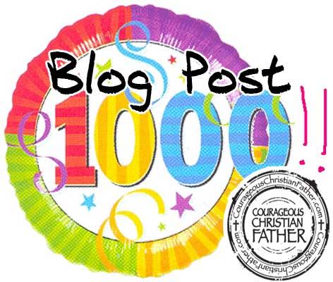 1000 blog post