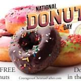 National Donut Day #NationalDonutDay #DonutDay