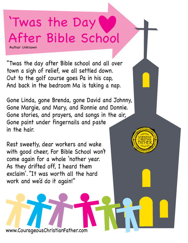 'Twas the Day After Bible School