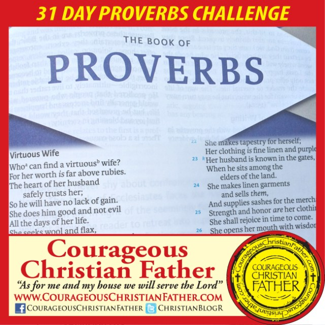 31 Day Proverbs Challenge