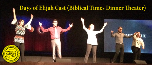 Days of Elijah Cast (Biblical Times Dinner Theater)