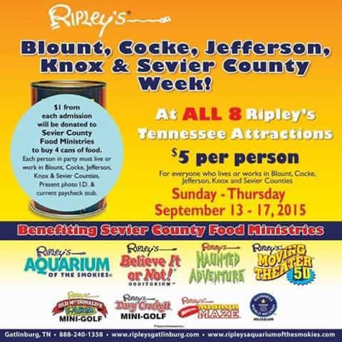 Ripley's Local Days graphic