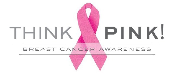 Think Pink! Breast Cancer Awareness - Pink Ribbon
