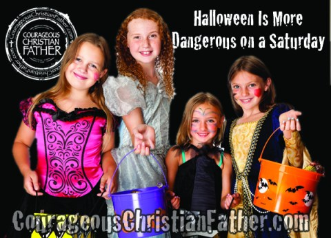 Halloween Is More Dangerous on a Saturday