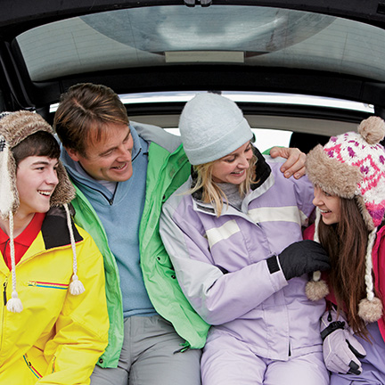 Fall Car Care - Family Features Image