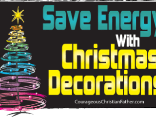 Save Energy with Christmas Decorations