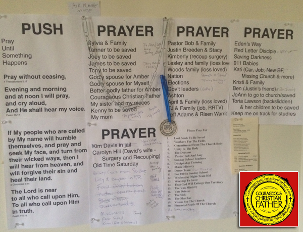 War Room / Prayer Wall