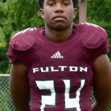 Zavion Dobson of Fulton High School Football #24