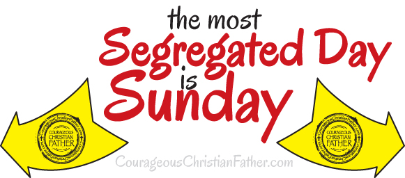The Most Segregated Day is Sunday