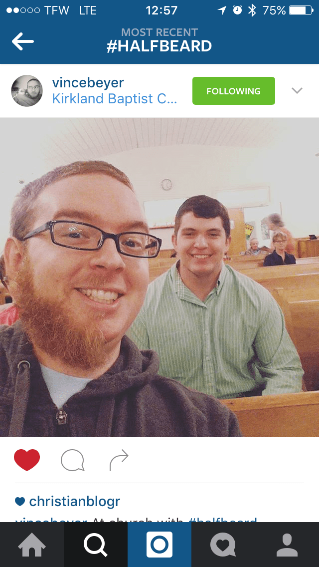 Vince Beyer | Half Beard | Kirkland Baptist Church | Fayetteville, TN