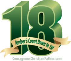Amber's Count Down to 18