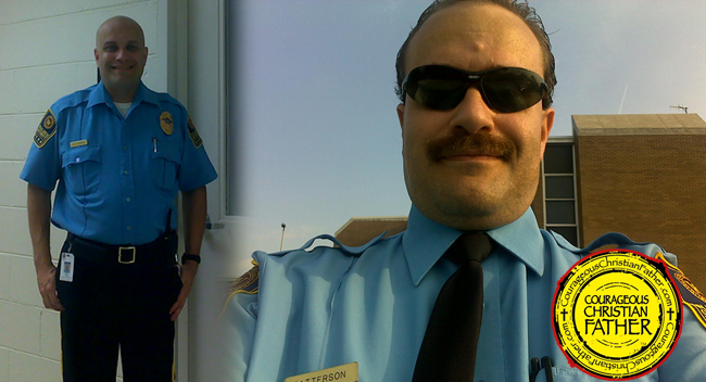Steve working an Unarmed Security Officer
