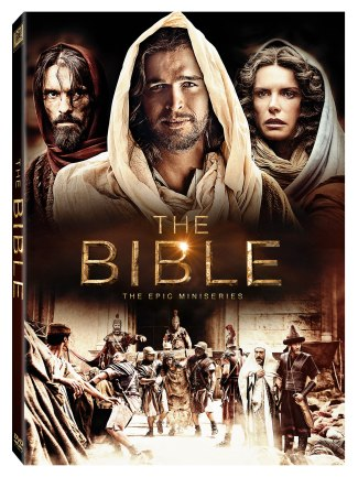 The Bible The Epic Miniseries DVD Spine