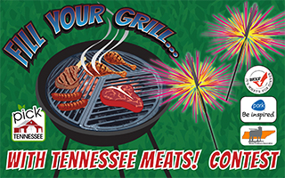 "Pick Tennessee ""Fill Your Grill"" Graphic"