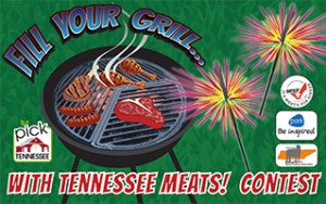 """Pick Tennessee """"Fill Your Grill"""" Graphic"""