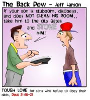 Father's Day Tough Love Comic