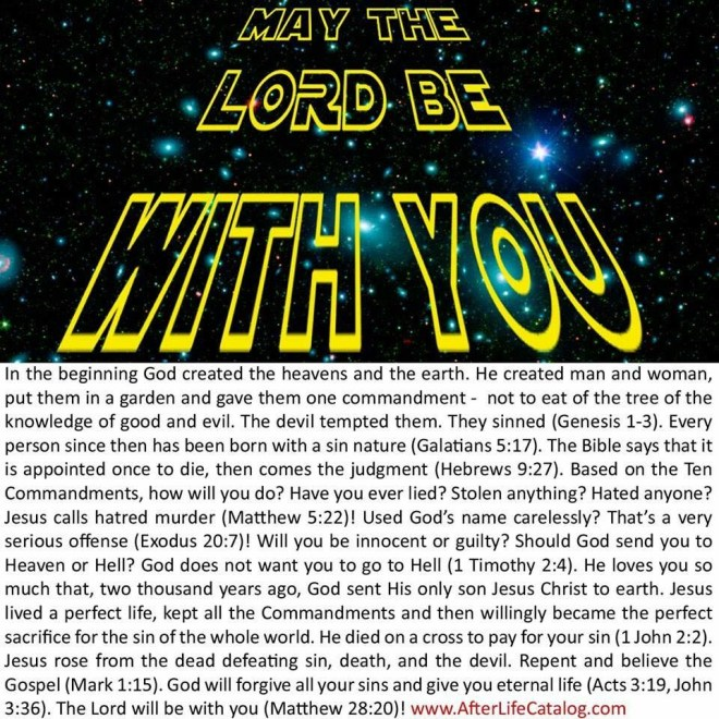 May the Lord be with You Bezeugen Gospel Tract