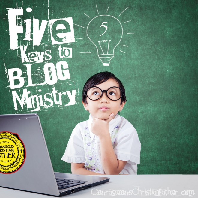 Five Keys to Blog Ministry