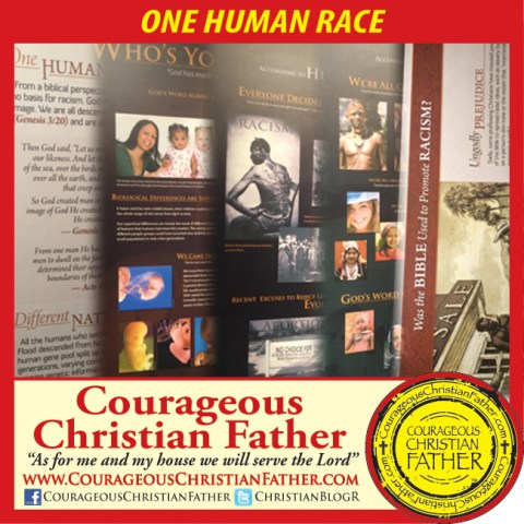 One Human Race - Images of Exhibits from the Creation Museum and Ark Encounter
