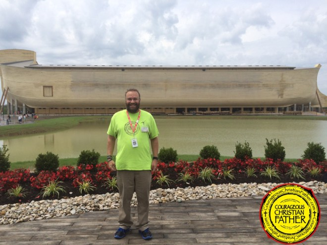 Legality of School Field Trips to the Ark Defended Photo is of Steve at the Ark Encounter.