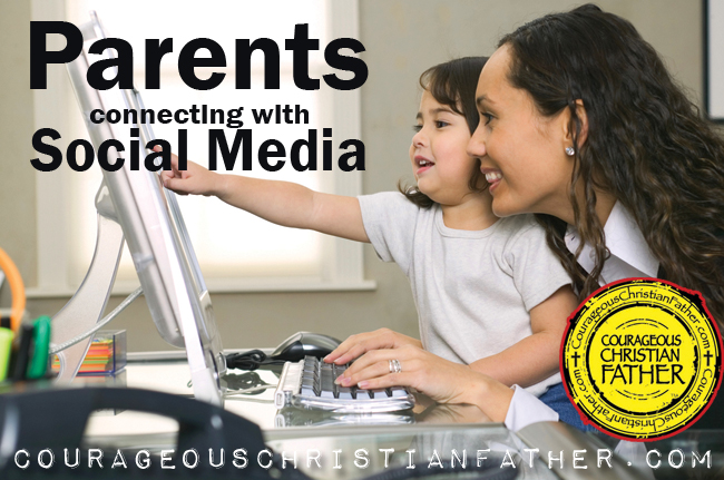 Parents connecting with Social Media - Parents are increasingly relying on social media sites to communicate with others and learn about school happenings.