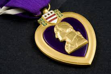 Purple Heart Award - Purple Heart Day