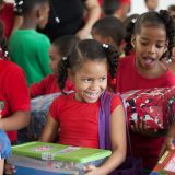 100 millionth shoebox delivery in Dominican Republic. (Photo Compliments of Operation Christmas Child) Back to School
