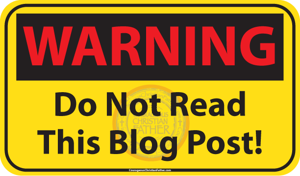 Warning Do Not Read This Blog Post