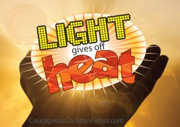 Light Gives Off Heat