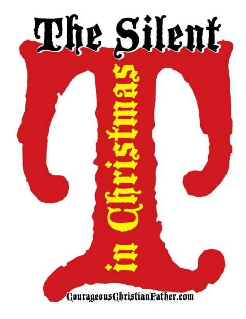 The Silent T in Christmas