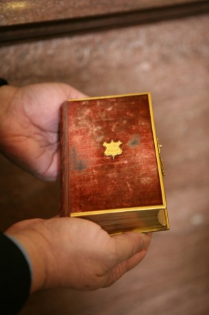 Lincoln's Family Bible (Courtesy of the Library of Congress) One of the Bible's Donald Trump will be sworn into office with.