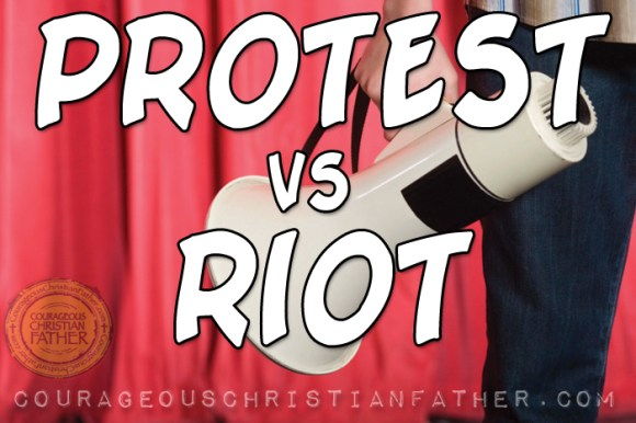 Protest vs Riot - There is a difference between a PROTEST and a RIOT. It Seems today the world has them backwards. #Protest #Riot #Protests #Riots
