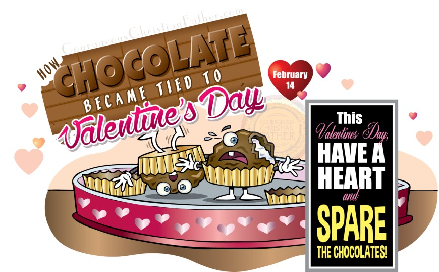 This Valentine's Day have a heart and spare the chocolates! (How Chocolate Became Tied to Valentine's Day)
