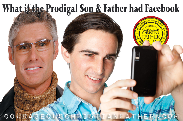What if the Prodigal Son & Father had Facebook