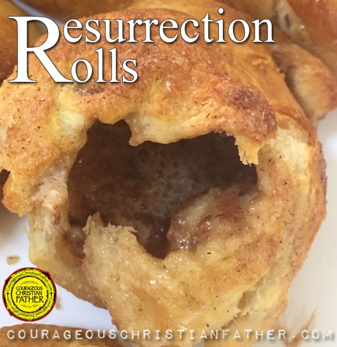 Resurrection Rolls – These are rolls that have basic ingredients and easy to make. Each item represents a part of the Resurrection of Jesus Christ including the finished product to look like an empty tomb. #ResurrectionRolls
