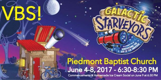 Galactic Starveyors Vacation Bible School