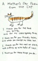 A Mother's Day Poem from the Cat #MothersDay