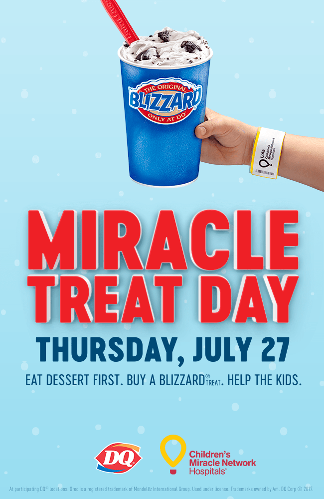 Miracle Treat Day at Dairy Queen