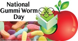 National Gummi Worm Day