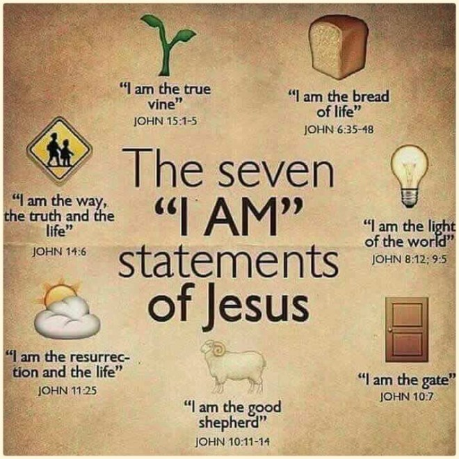 The 7 I am Statements of Jesus